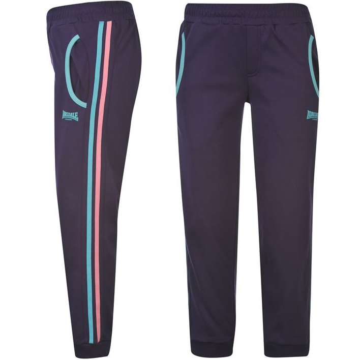 lonsdale ladies 3 4 fitness trousers xs to 3xl tracksuit. Black Bedroom Furniture Sets. Home Design Ideas
