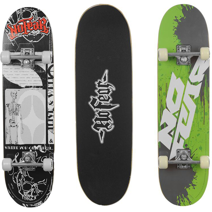 no fear skateboard skate board komplettboard skaten. Black Bedroom Furniture Sets. Home Design Ideas