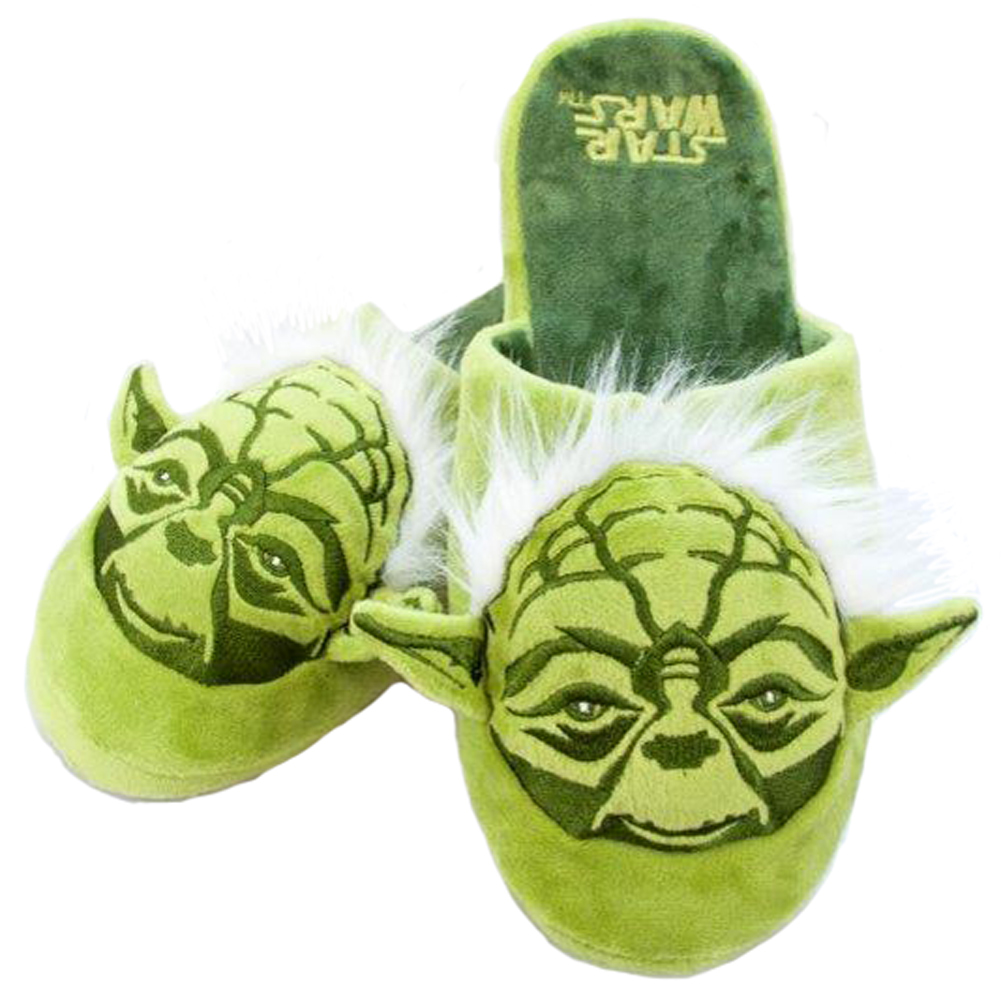 yoda star wars mule slippers pantoffeln hausschuhe. Black Bedroom Furniture Sets. Home Design Ideas