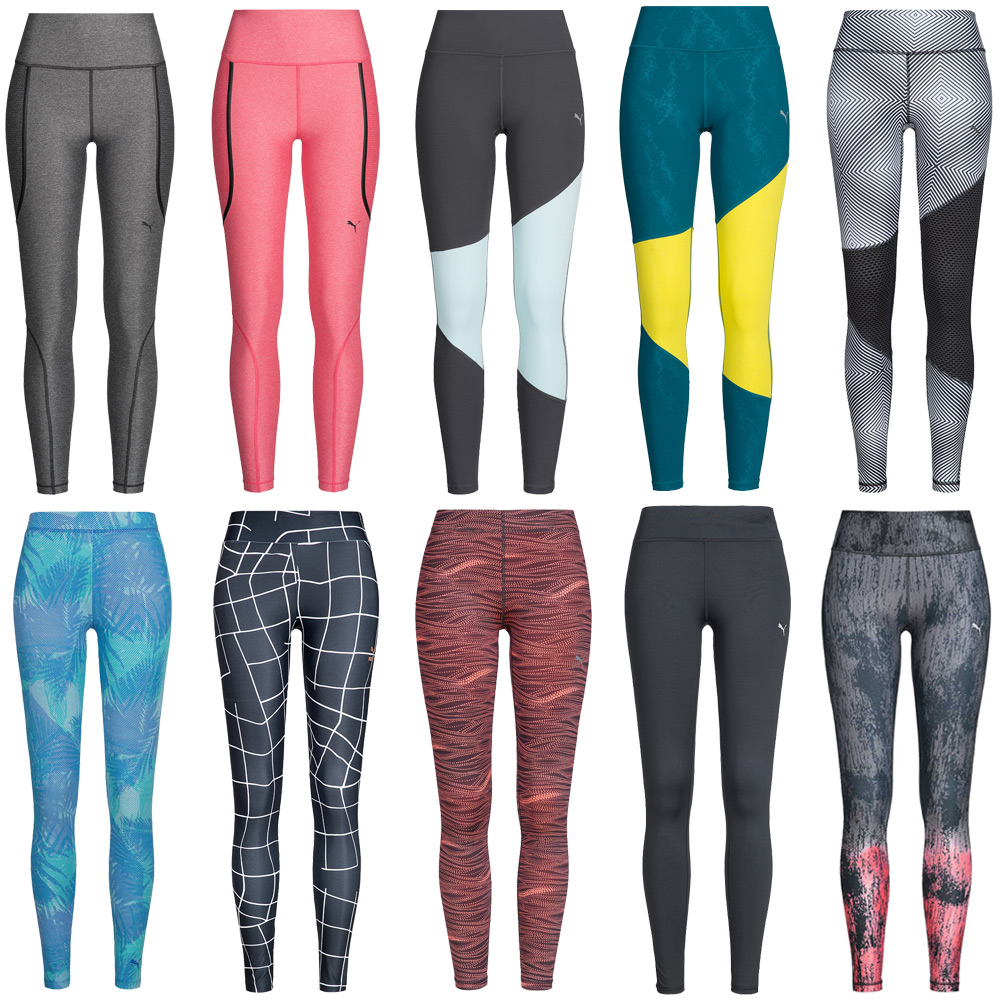Details zu PUMA Sport Speed Clash Tight Damen Leggings Training Fitness Running Tights neu