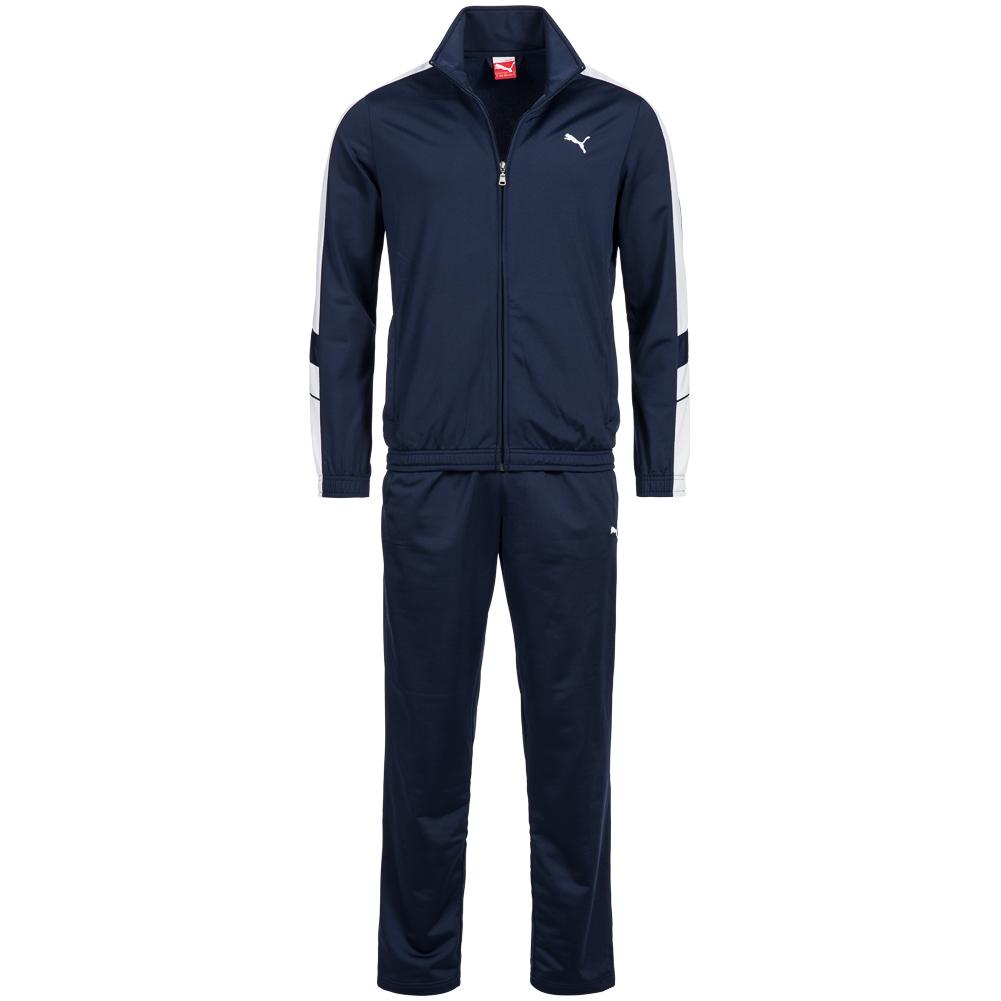 puma poly suit herren trainingsanzug training anzug men 819298 40 s 2xl neu ebay. Black Bedroom Furniture Sets. Home Design Ideas