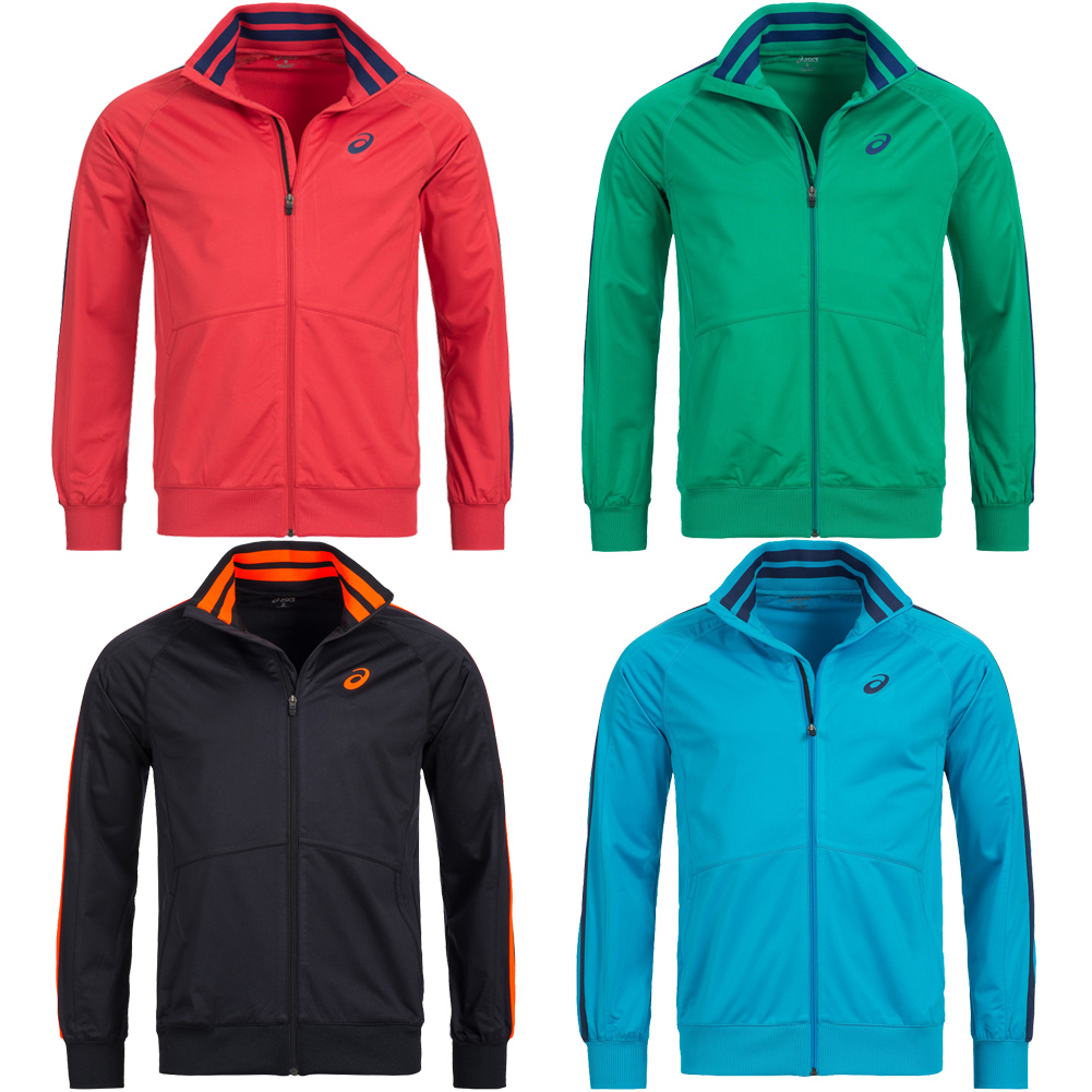 Details about Asics Track Top Mens Track Jacket Sports Jacket Fitness 123092 Sports Jacket New show original title