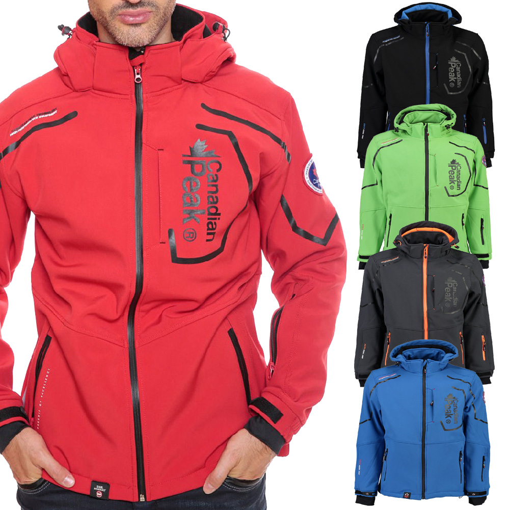 9f0bace86e4f Canadian Peak by Geographical Norway Triyuga Herren Softshell Outdoor MIX