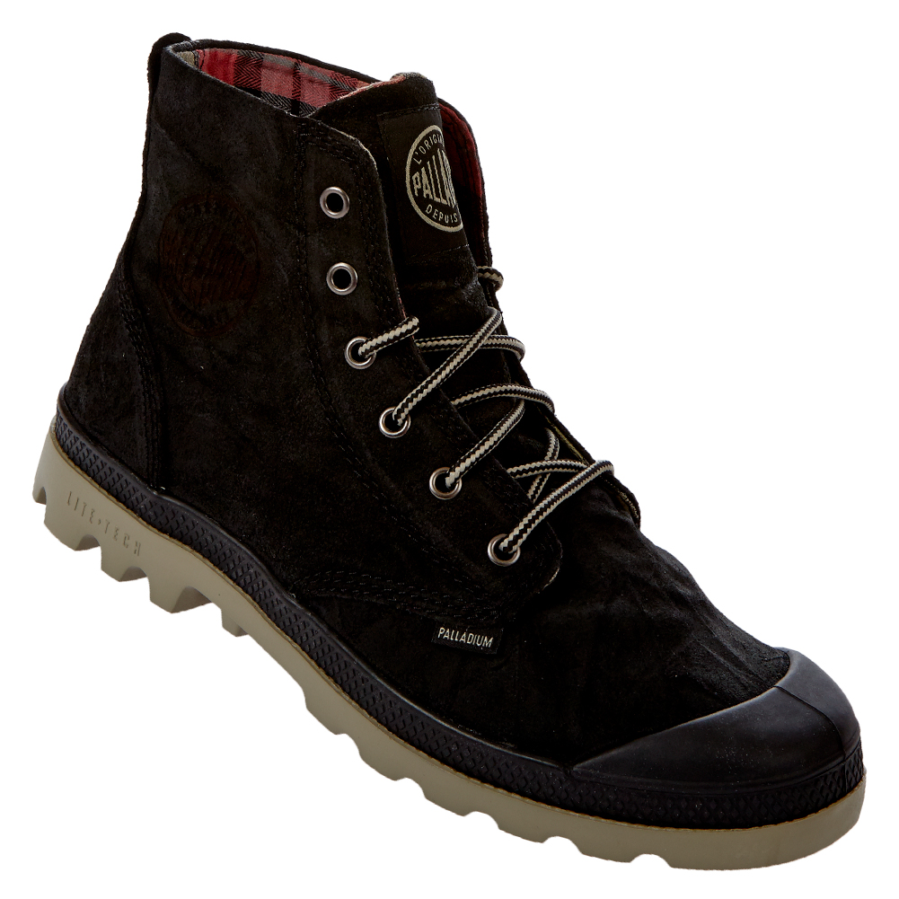 palladium pampa hi lite leather herren boots 02903 bootschuhe leder schuhe neu ebay. Black Bedroom Furniture Sets. Home Design Ideas