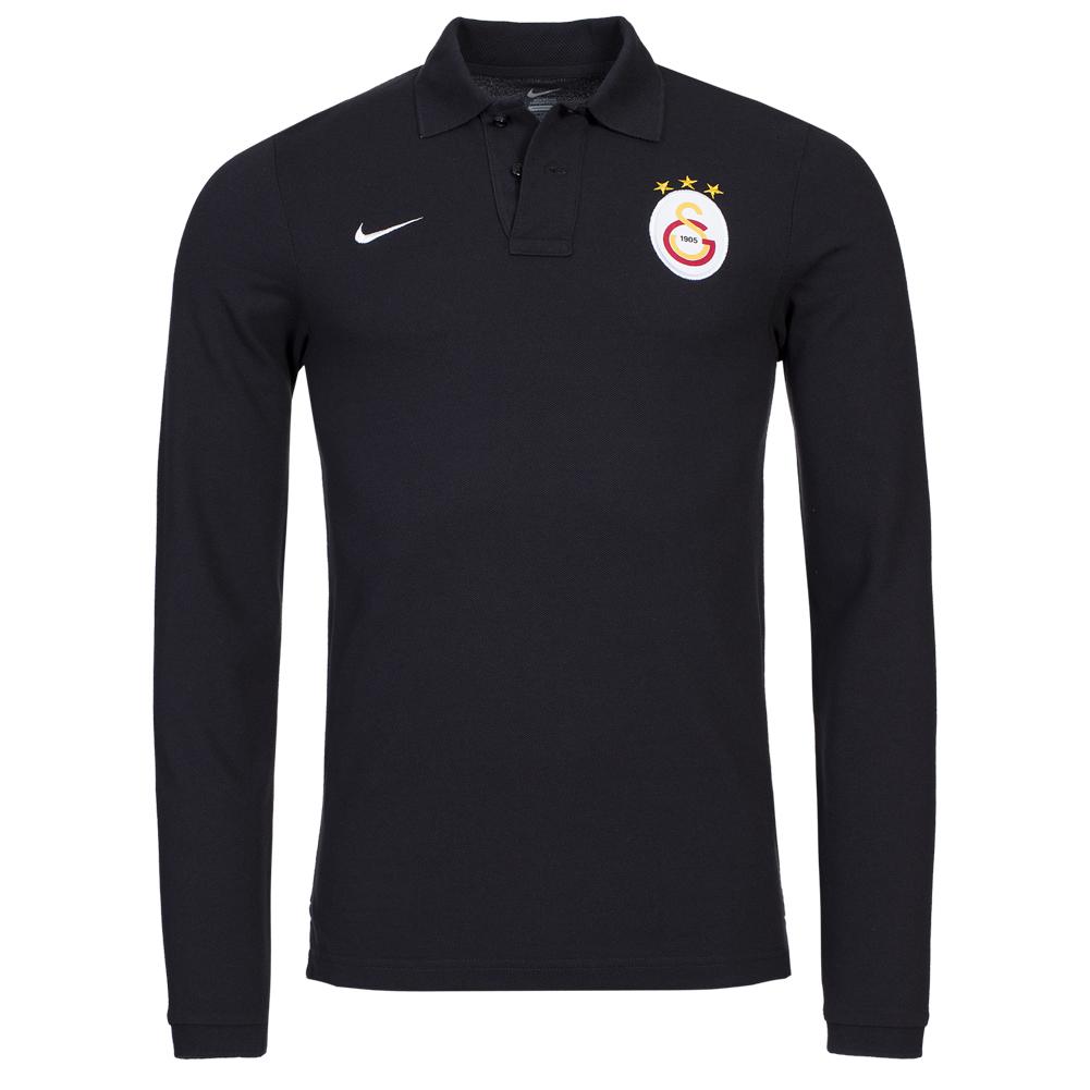 Galatasaray-Istanbul-Nike-Herren-Langarm-Polo-Shirt-S-M-L-XL-445477-011-Gala-neu