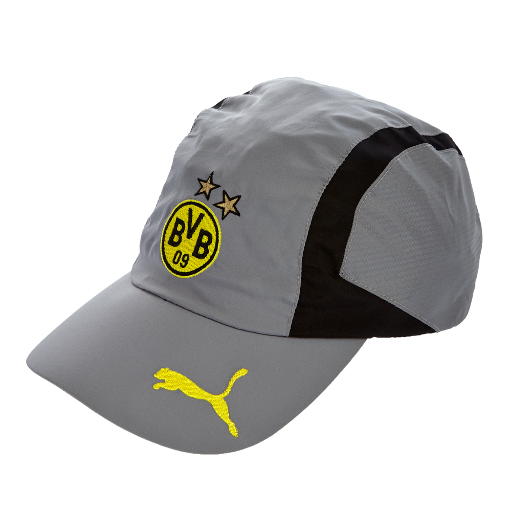bvb borussia dortmund kappe puma 741756 schwarz grau cap basecap bvb 09 neu ebay. Black Bedroom Furniture Sets. Home Design Ideas