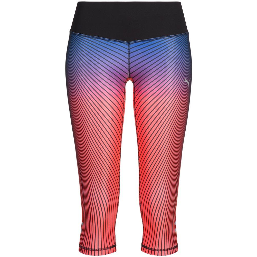 PUMA GRAPHIC DAMEN 34 Running Tights Leggings Sport Hose 514333 03 Gr. XS neu