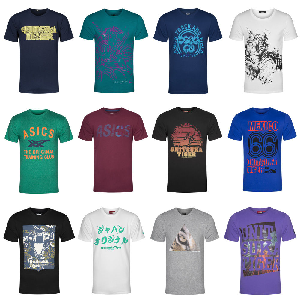 Details about Asics Mens T Shirt Casual Tee Shirt Casual XS S M L XL 2xl 3xl 4xl Sport show original title
