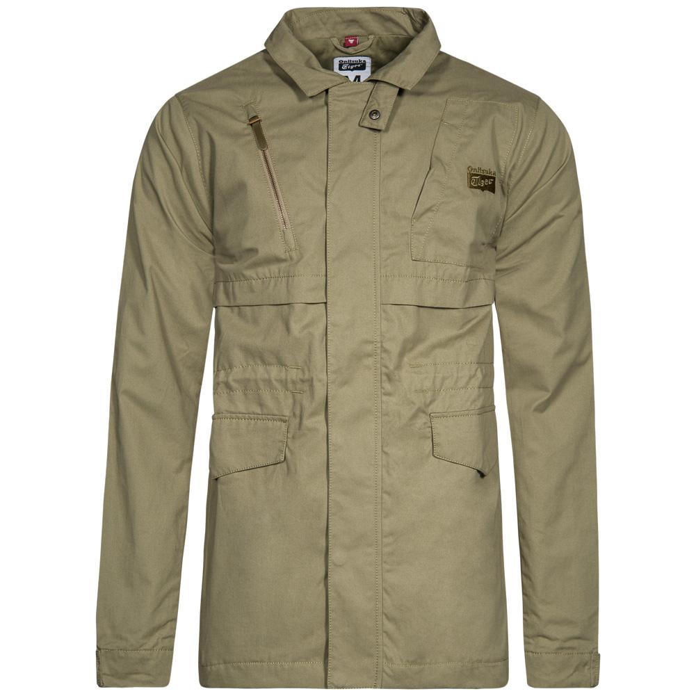 asics onitsuka tiger fashion field herren jacke freizeit jacket 122745 s m l xl ebay. Black Bedroom Furniture Sets. Home Design Ideas