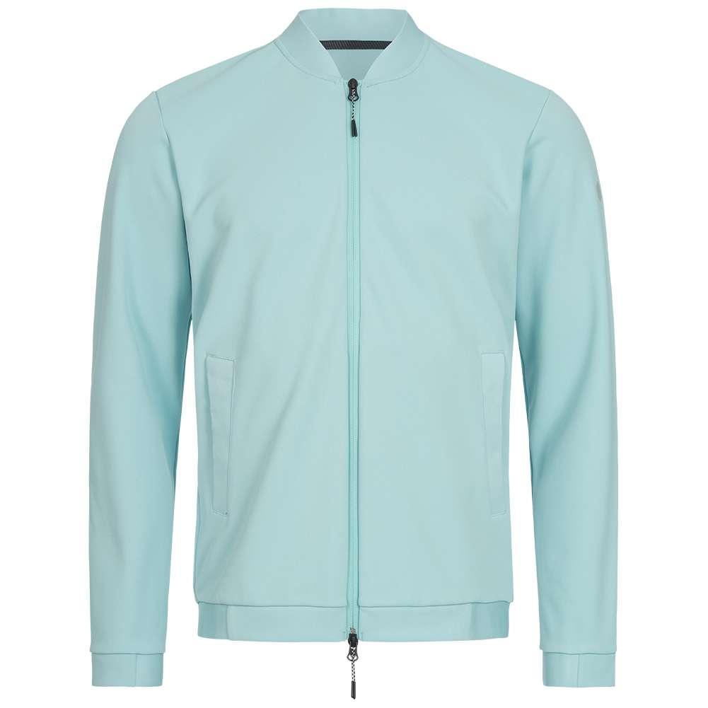 New Mens Designer Bomber Jacket Summer Harrington Coat Collar Neck Zip Striped