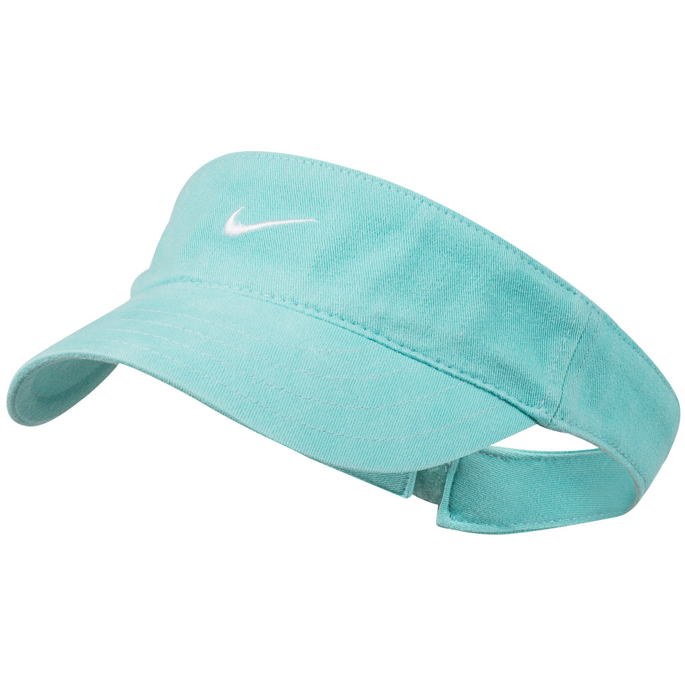 Nike golf ladies visor sun visor women sun protection cap for Sun protection golf shirts