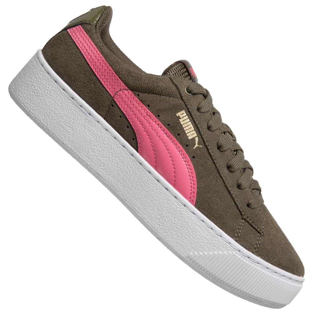 Vikky Platform Woman 363287 01 Plateau Sneaker von Puma