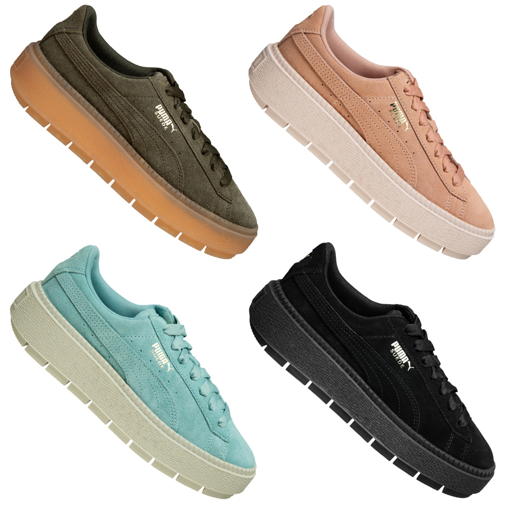 Details about Puma Suede Platform Trace Womens Sneakers Leisure Trainers Shoes 365830 NEW show original title