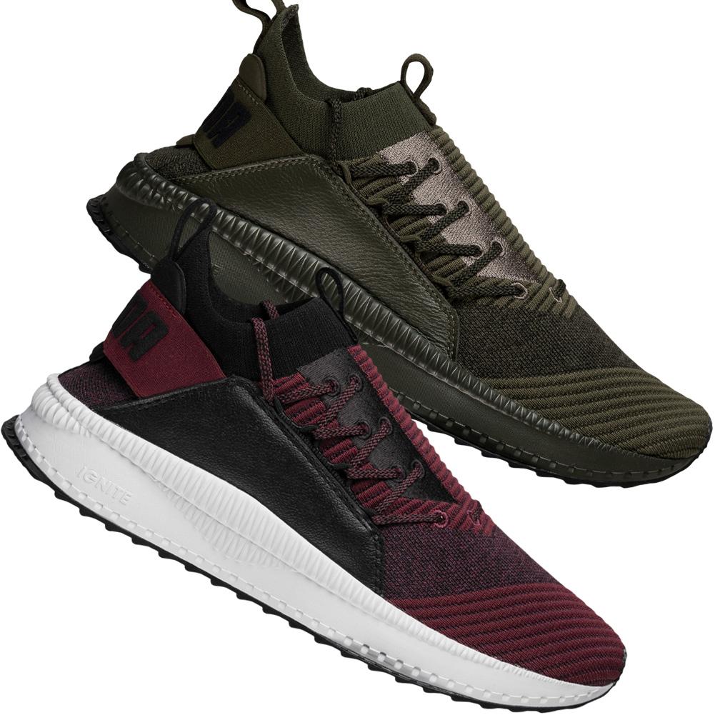 PUMA Sneaker Tsugi Jun Baroque weinrot schwarz Herren Schuhe