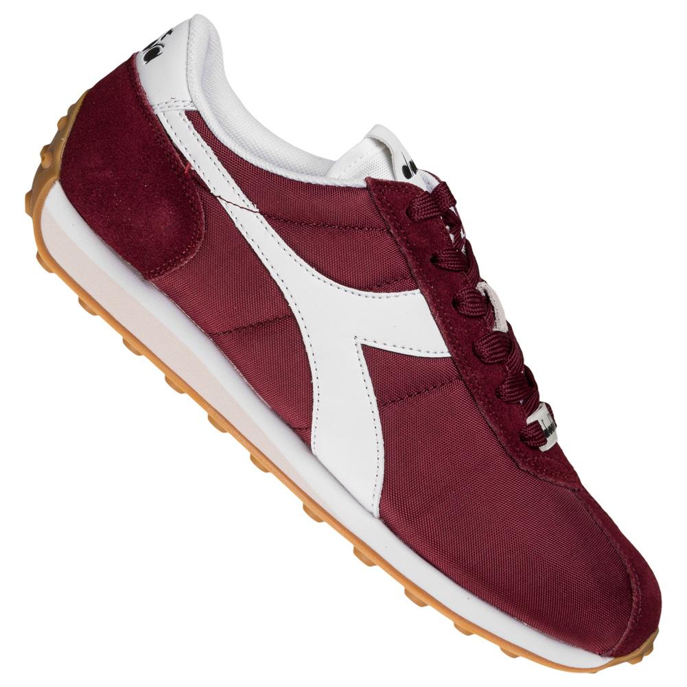 Details zu Diadora Sirio NYL Sneaker Herren Straßen Sneaker Schuhe rot gelb neu