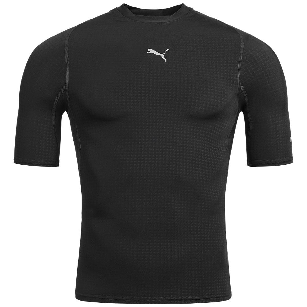 puma pro vent herren kurzarm funktionsshirt fitness kompression shirt sport neu ebay. Black Bedroom Furniture Sets. Home Design Ideas