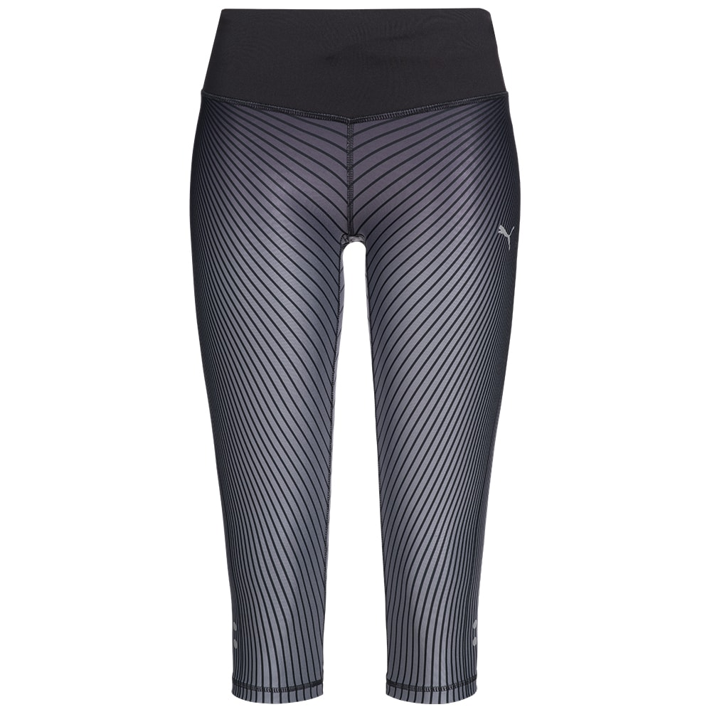 puma graphic damen 3 4 running tights leggings fitness. Black Bedroom Furniture Sets. Home Design Ideas