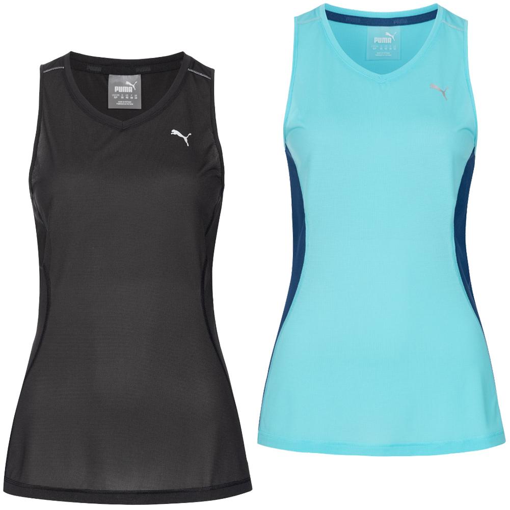 Details zu PUMA Damen Core Run Sport Fitness Trainings Shirt Tank Lauftop Oberteil neu