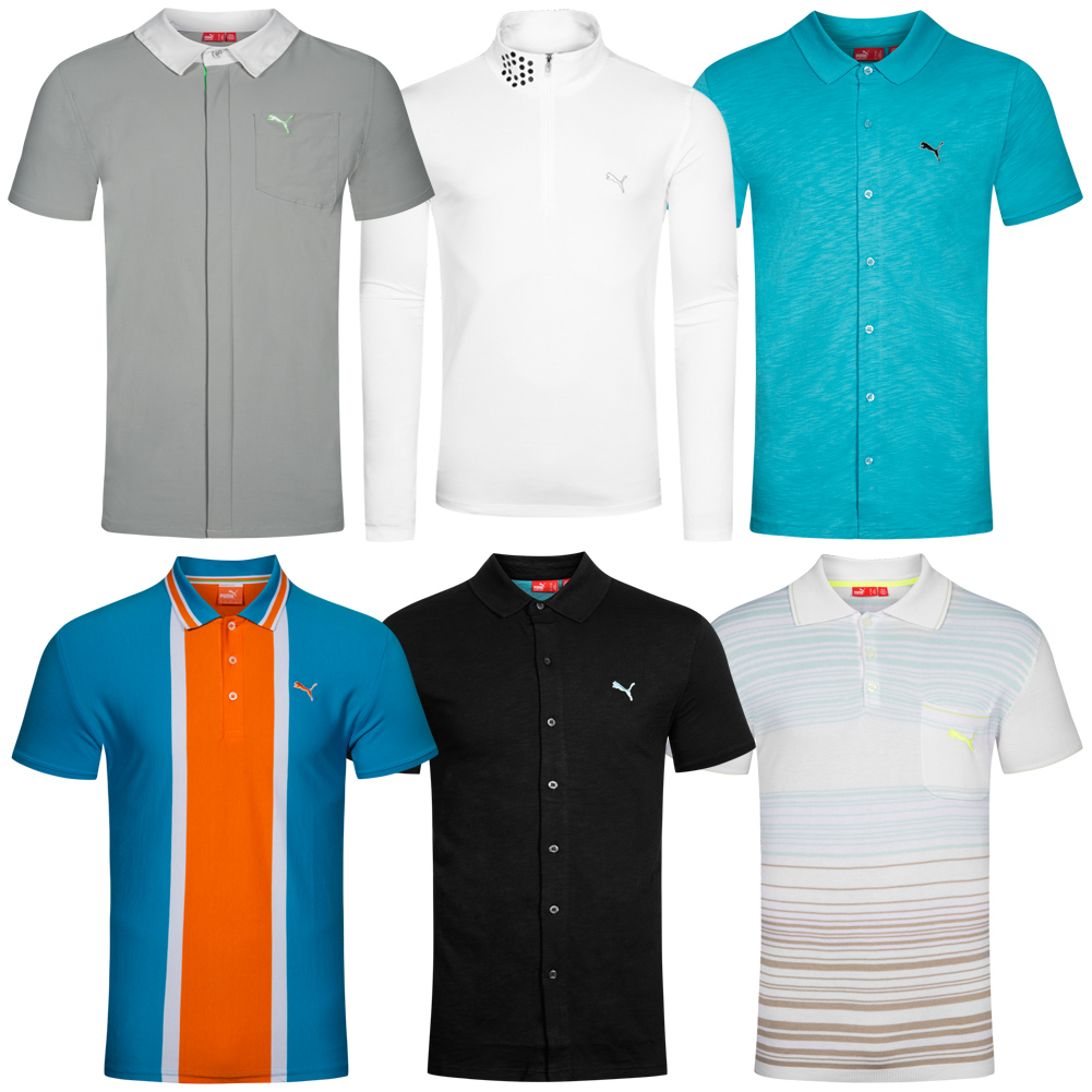 puma herren golf polo shirt polo hemd poloshirt tee shirt. Black Bedroom Furniture Sets. Home Design Ideas