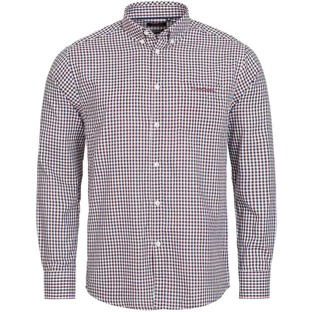 Pierre-Cardin-Herren-Langarm-Hemd-Business-Freizeit-Shirt-Langarmhemd-Herrenhemd