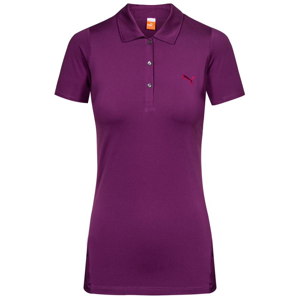 puma damen golf polo shirt sport polo hemd freizeit. Black Bedroom Furniture Sets. Home Design Ideas