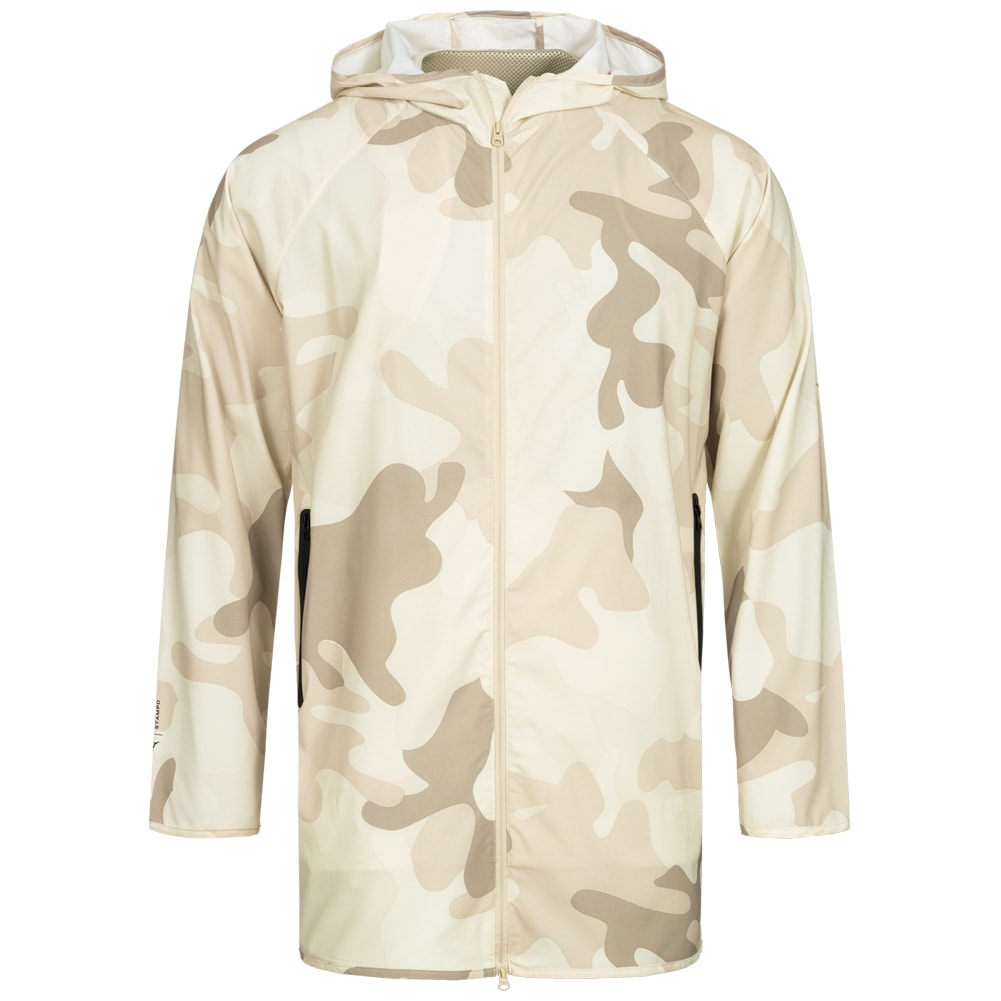 Details about Puma x Stampd Jackpack Men's Camouflage Jacket Casual Hood Parka White New