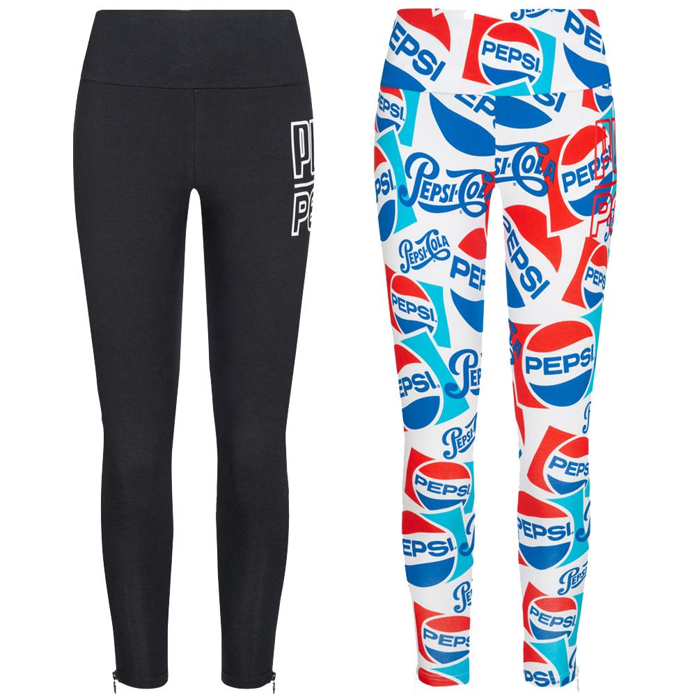 Détails sur Puma X Pepsi Leggings Femmes Moulant près Du Corps Sport Pantalon Fitness Neuf