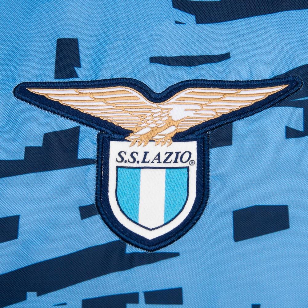 Lazio Rom macron packable Fußball Fan Sport Trainings Rucksack 58021078 neu