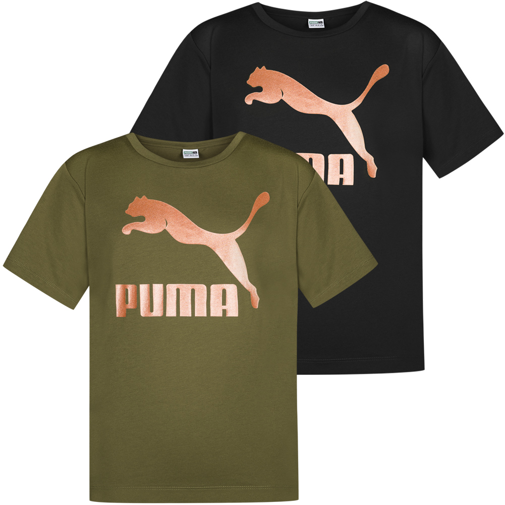 Puma Kinder Evo Graphic Tee T-Shirt