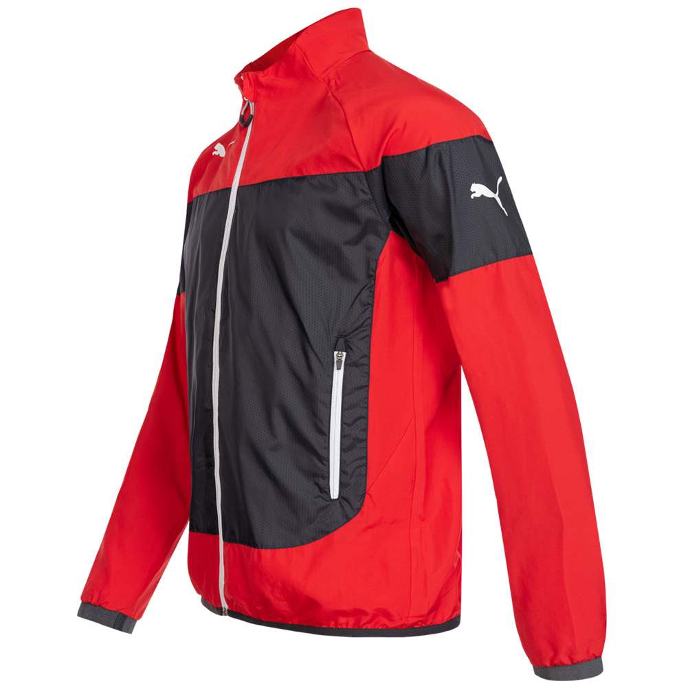 Details about Puma indomitable Mens Leisure Jacket Sport Casual Jacket Red Green 653736 NEW show original title