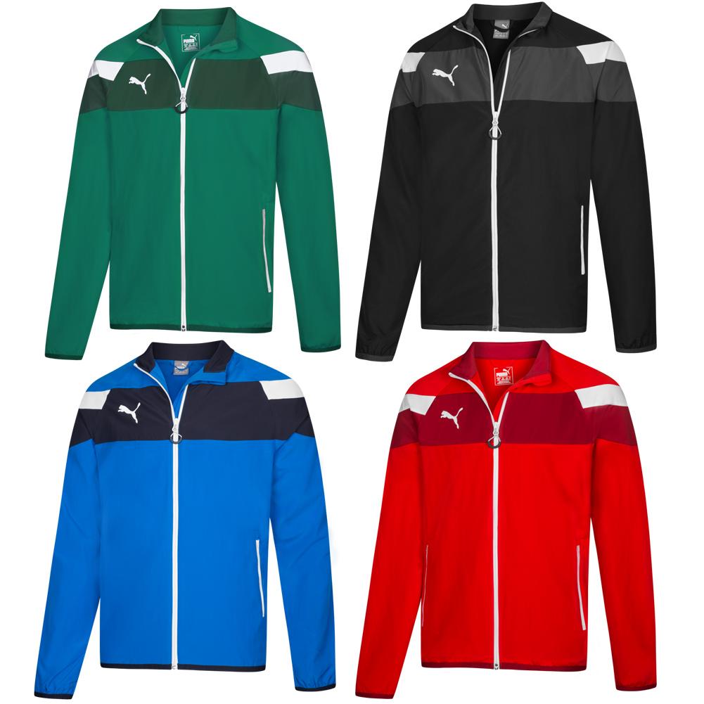 New Men's About Training Sports Jacket Details Puma Ii Track Top Spirit Woven CxoedrB