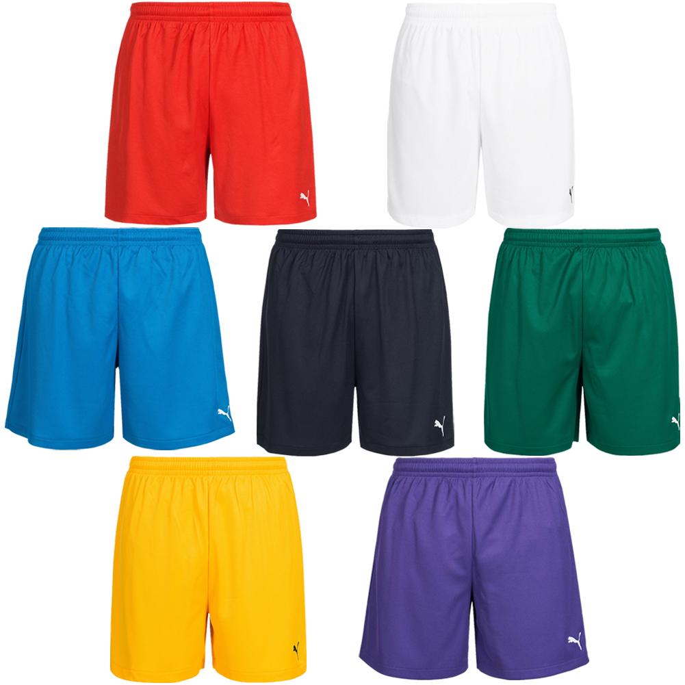 Details zu PUMA Vencida Trainings Kinder Herren Fitness Fußball Sport Shorts 700789 neu