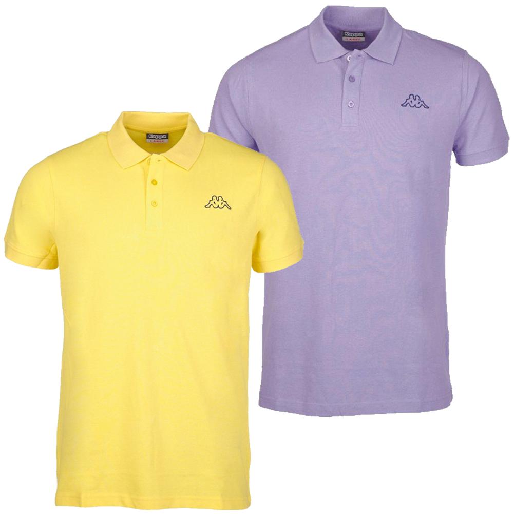 Details zu Kappa Samul Herren Polo Shirt Freizeit Sport Tee Poloshirt Oberteil 704204 neu