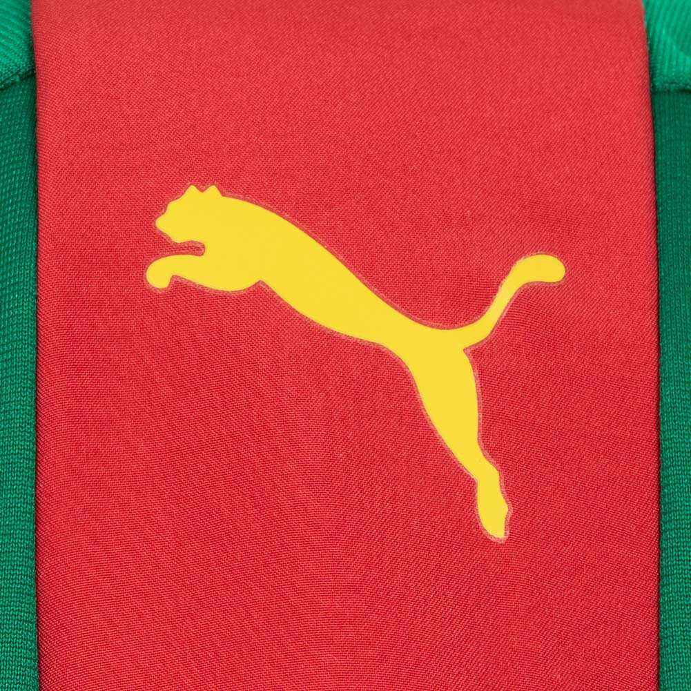 Details zu Kamerun PUMA Herren Fußball Trainings Sport Stadion Jacke 749039 01 grün neu
