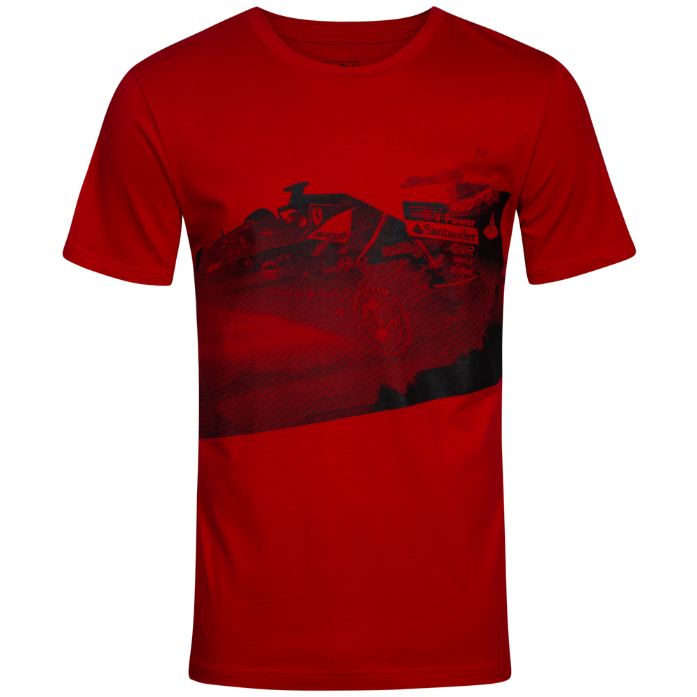 puma scuderia ferrari herren transform graphic t shirt. Black Bedroom Furniture Sets. Home Design Ideas