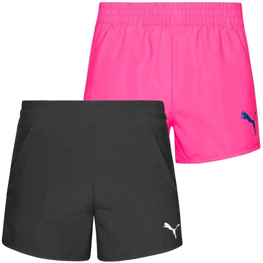 herren exquisiter Stil zu Füßen bei Details zu PUMA Active Dry Essentials Mädchen Shorts Sporthose Trainings  Hose 838881 Short