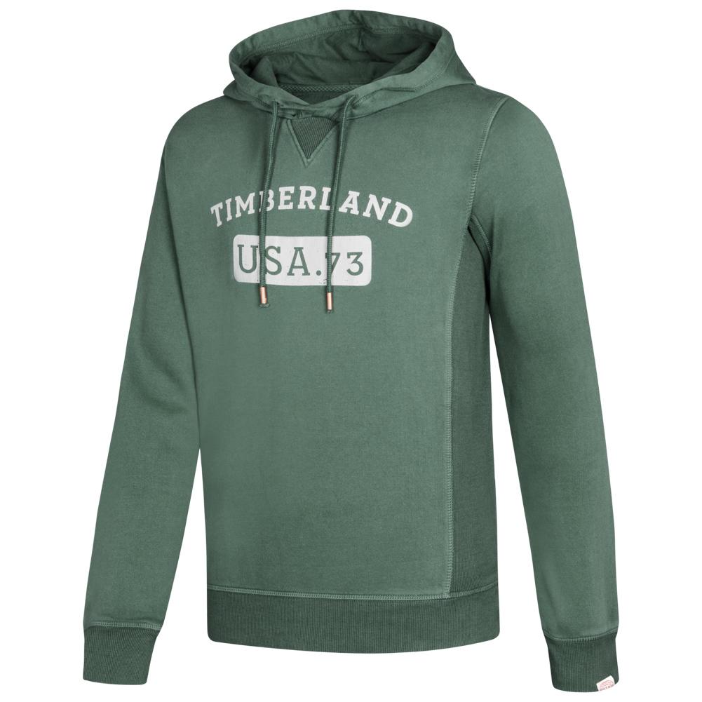 Details zu Timberland Brushback Gym Vintage Herren Kapuzen Sport Sweatshirt A1N3Y neu