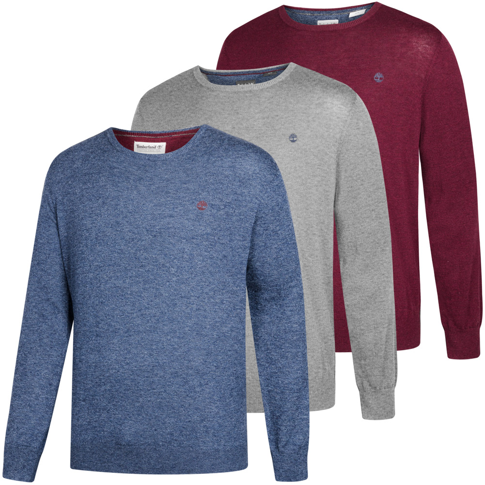 Details zu Timberland Jones Brook Merino Herren Sweater Pullover Sweatshirt A1NW5 neu