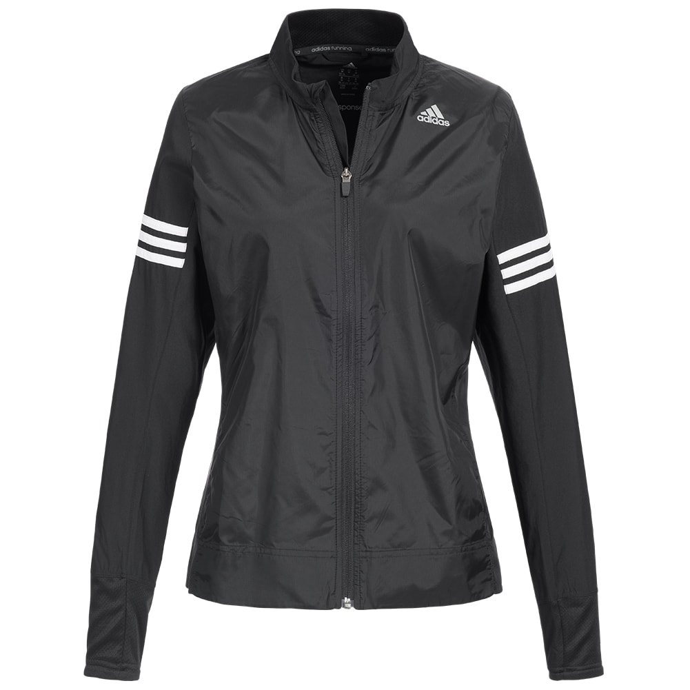 adidas response wind jacket laufjacke trainingsjacke sport fitness herren damen ebay. Black Bedroom Furniture Sets. Home Design Ideas