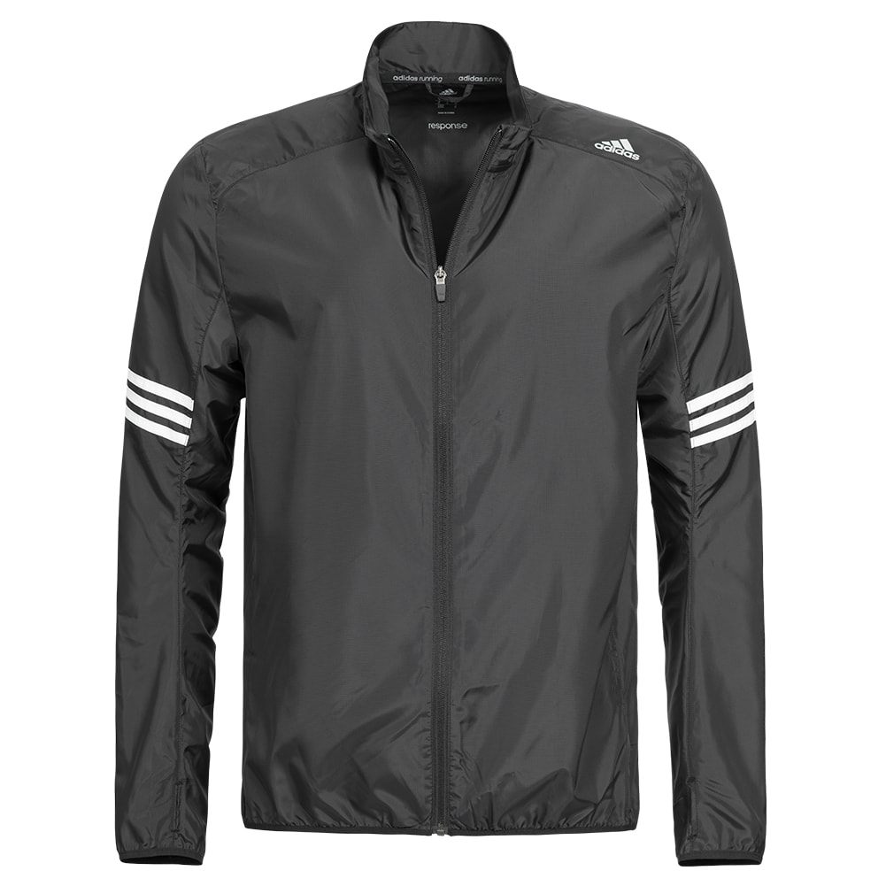 adidas response wind jacket herren laufjacke sportjacke. Black Bedroom Furniture Sets. Home Design Ideas