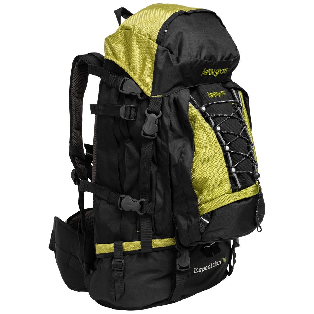 miniatura 3 - AspenSport Herren Damen Unisex Rucksack Sporttasche Fitness 55-70 Liter neu