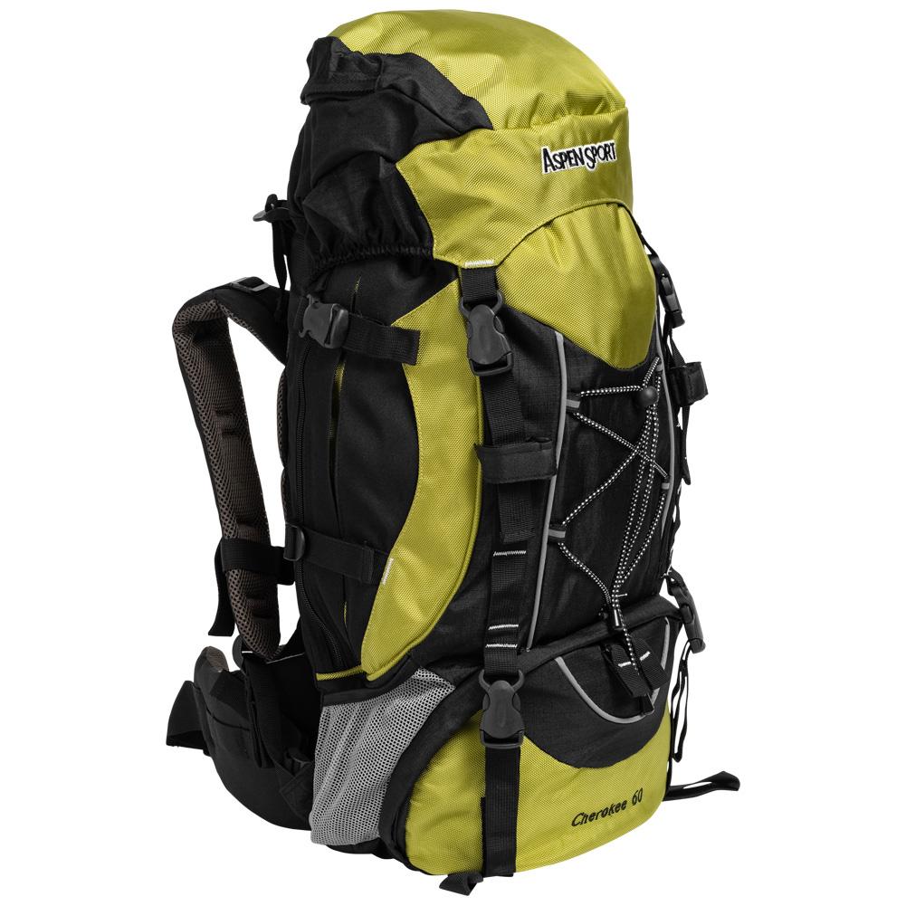 miniatura 4 - AspenSport Herren Damen Unisex Rucksack Sporttasche Fitness 55-70 Liter neu