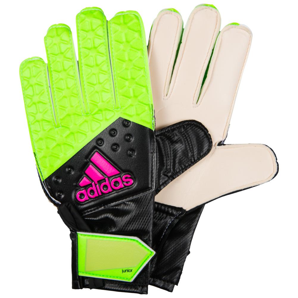 Adidas Ace Junior Children s Goalkeeper Gloves Goalie Football ... 3402f85083f3
