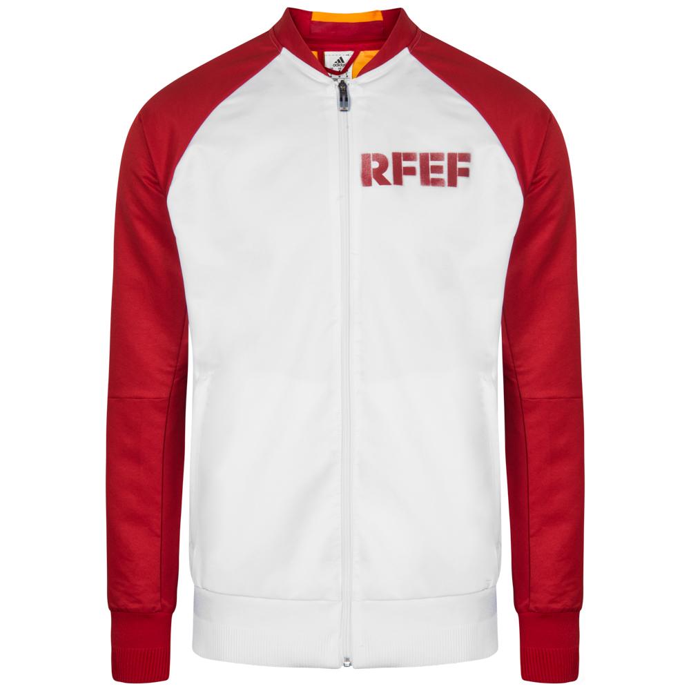 Details about Spain Adidas Rfef Men s Jacket Anthem Jacket Training S M L XL  XXL AI4438 New 9f554c7df