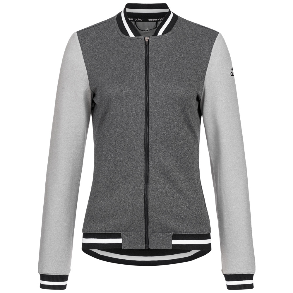 Details zu adidas Anthem Cult Jersey Damen Radsport Oberteil Fahrrad Jacke grau AP1161 neu