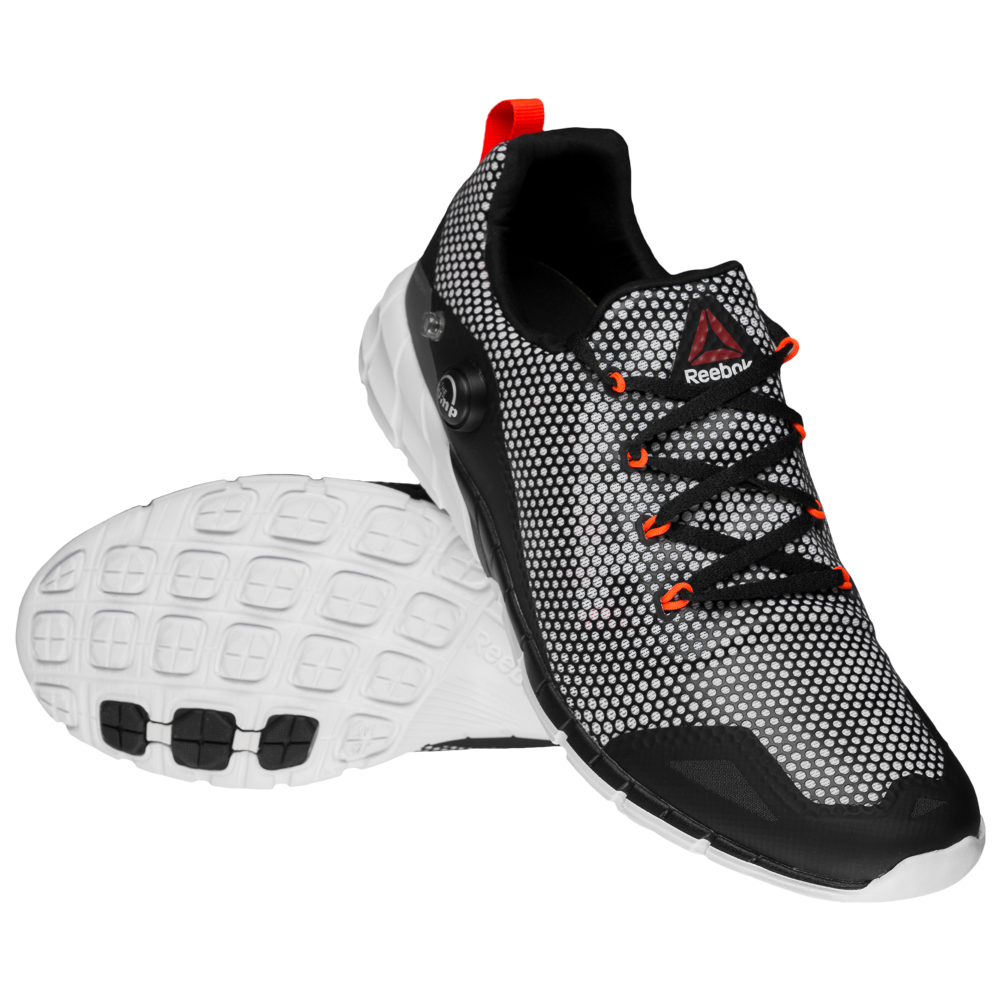 Reebok Zpump Fusion 2.0 Ghost Herren Sport Fitnessschuhe AQ8834 grau neu