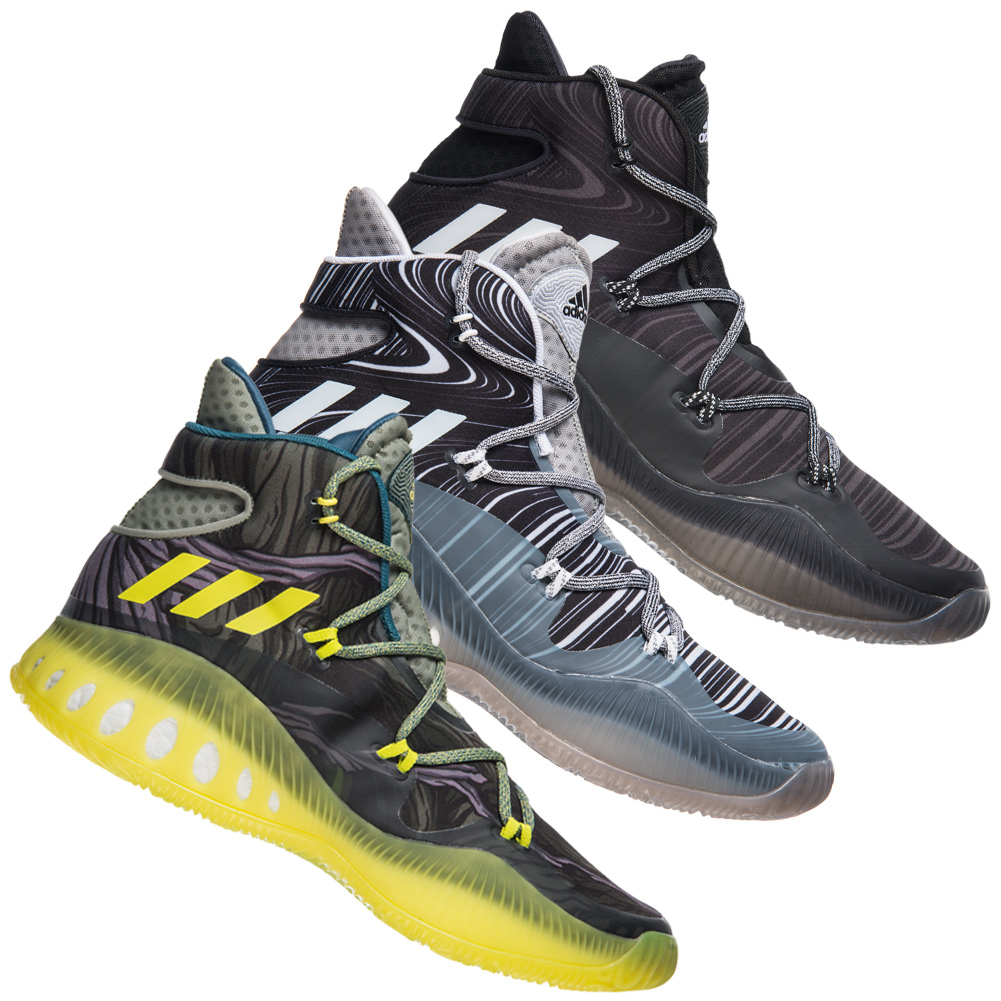 adidas Crazy Explosive Herren Basketballschuhe Basketball Schuhe ... c57fcca952a63
