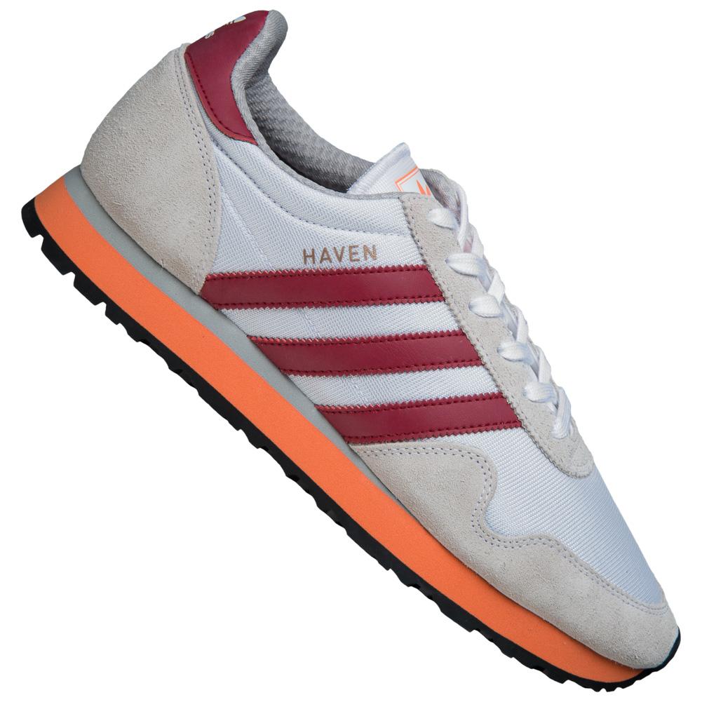 adidas Basket Originals Haven Straßenschuhe 70er Retro Mode Basket adidas Turn Schuhe neu 5f798e