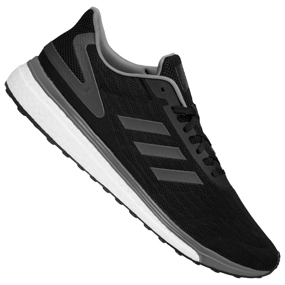 Detalles acerca de Adidas response Lite Boost caballeros sobre tamaño zapatos zapatillas bb3617 negro nuevo mostrar título original