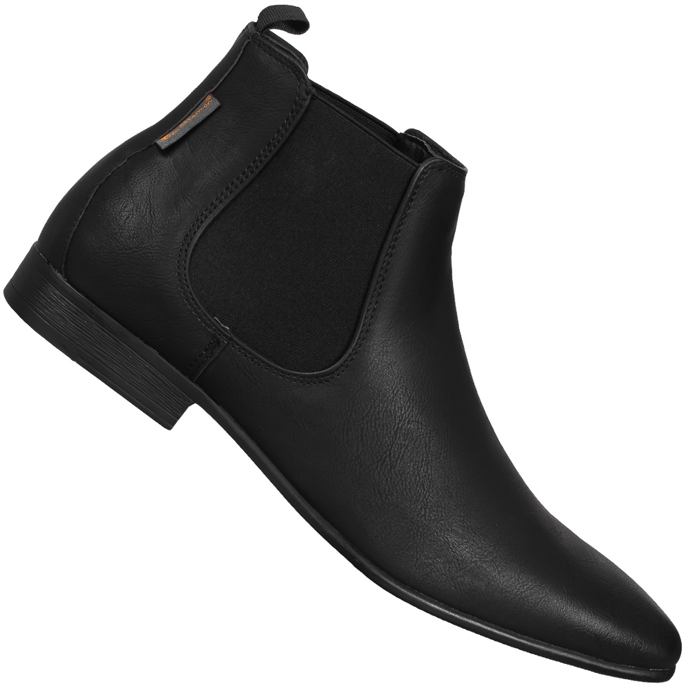 ben sherman ashorne fashion chelsea boots herren classic business schuhe boots ebay. Black Bedroom Furniture Sets. Home Design Ideas